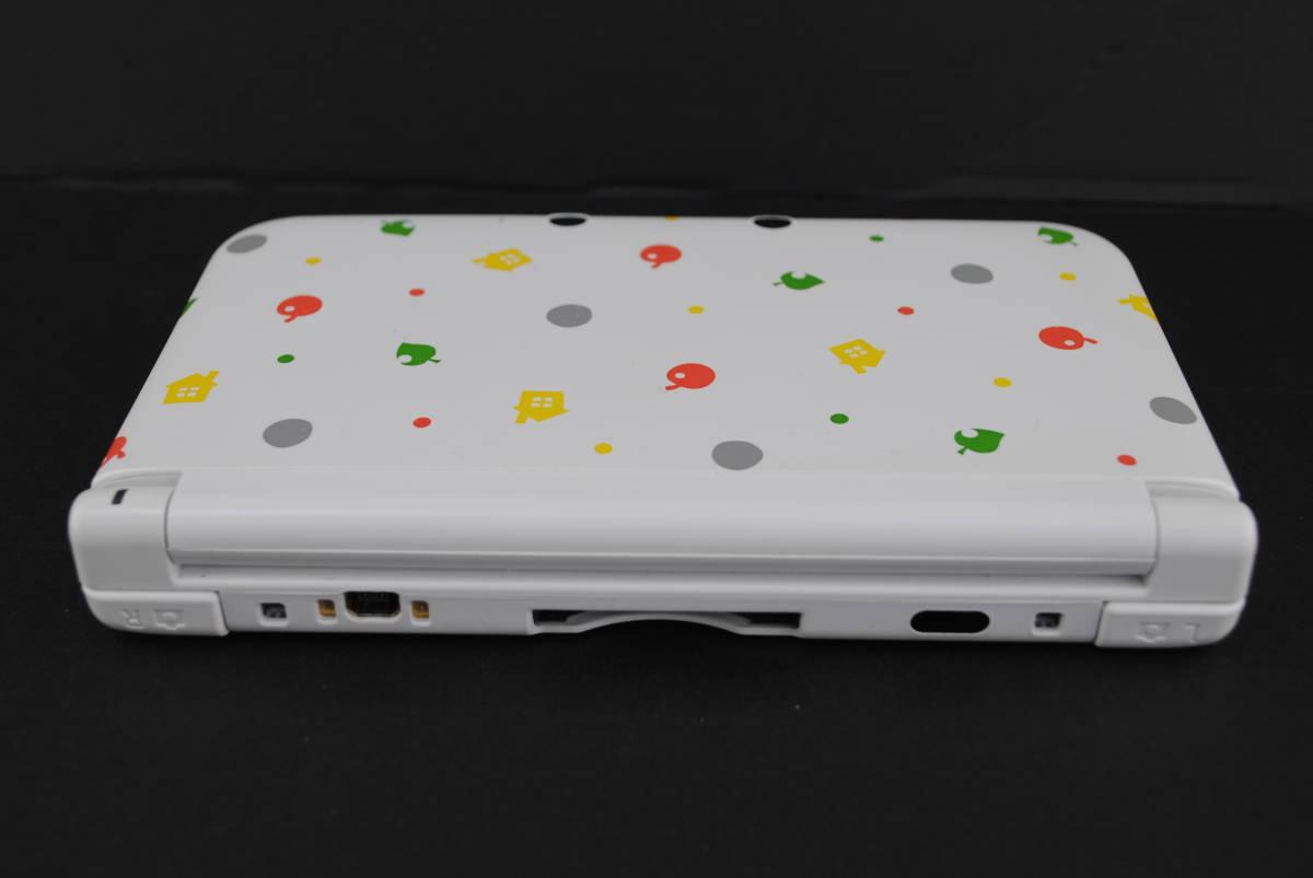(4721)【3DS】3DSLL本体のみ とびだせどうぶつの森パック (※ダウンロード版ソフト欠品 /箱なし・本体のみ) 中古品_画像5