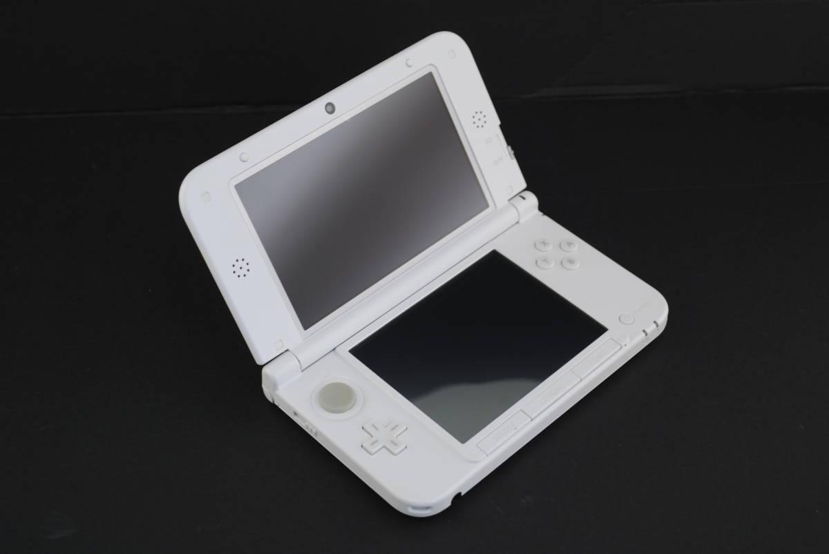 (4721)【3DS】3DSLL本体のみ とびだせどうぶつの森パック (※ダウンロード版ソフト欠品 /箱なし・本体のみ) 中古品_画像2