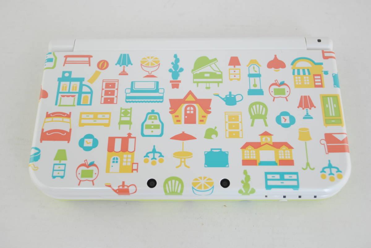 (4724)【3DS】New3DSLL本体 どうぶつの森 ハッピーホームデザイナー パック (※ダウンロード版ソフト欠品) 中古品_画像6