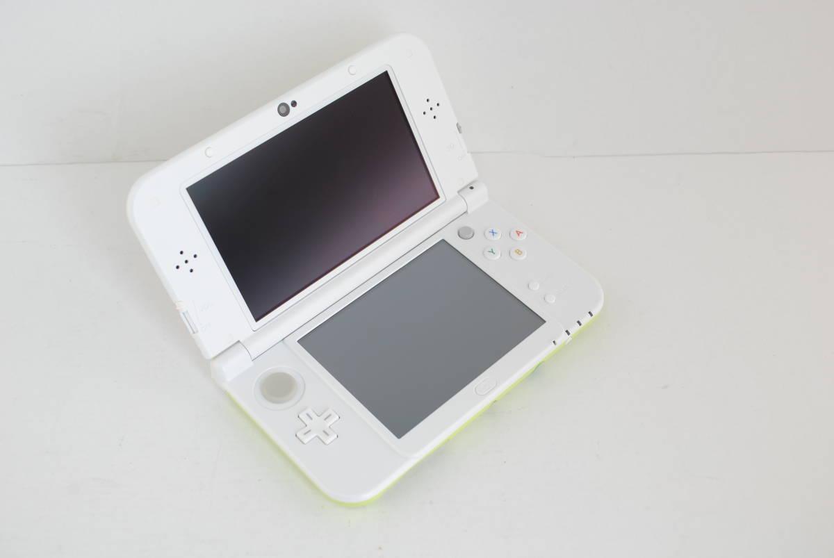 (4724)【3DS】New3DSLL本体 どうぶつの森 ハッピーホームデザイナー パック (※ダウンロード版ソフト欠品) 中古品_画像2