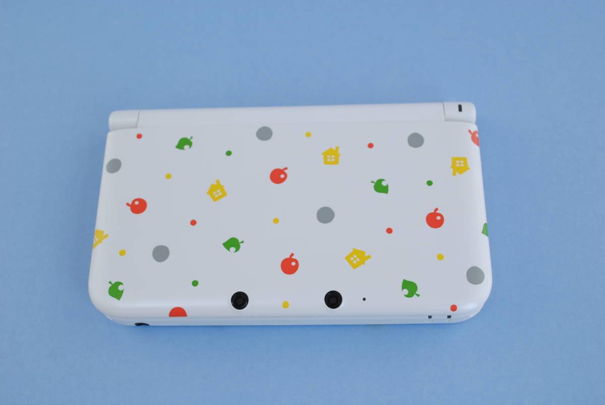 (4730)【3DS】3DSLL本体 とびだせ どうぶつの森パック (※ダウンロード版ソフト欠品) 中古品_画像5