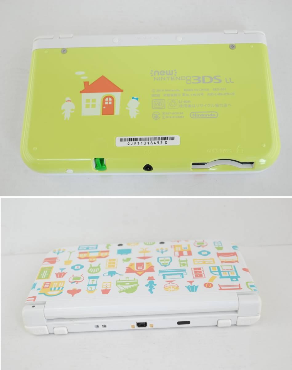 (4724)【3DS】New3DSLL本体 どうぶつの森 ハッピーホームデザイナー パック (※ダウンロード版ソフト欠品) 中古品_画像7