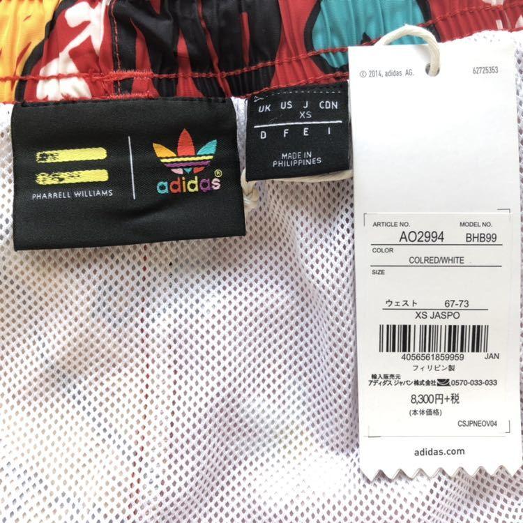adidas Pharrell Williams 水着 メンズ XS スイムウェア ショーツ ショートパンツ アディダス ファレル ウィリアムス_画像5