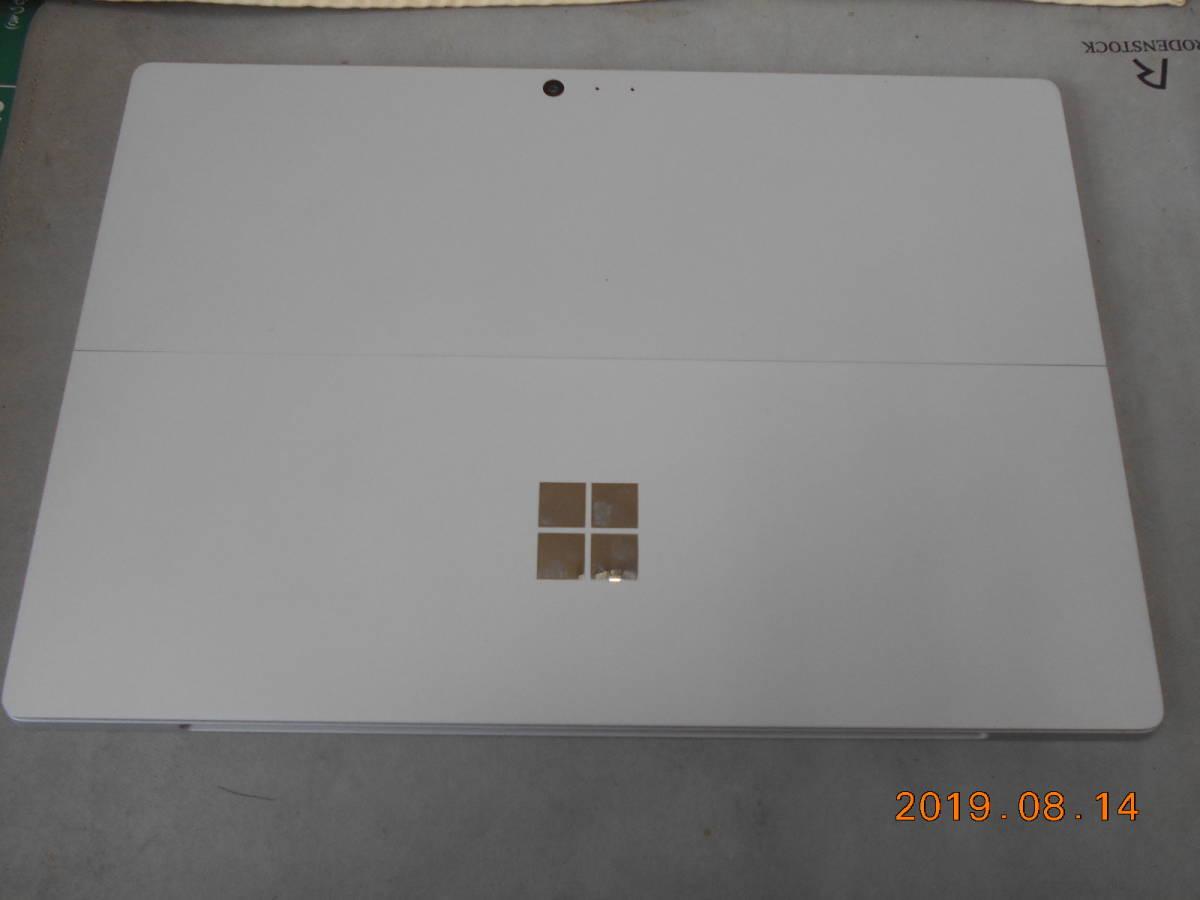 中古 Microsoft Surface Pro 4 CR3-00014 マイクロソフト サーフェス 12.3型 タブレット256GB  オフィス有り 美品_画像3