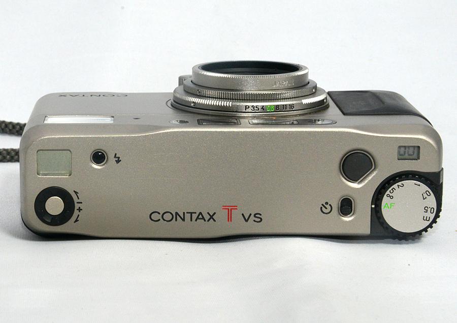 フィルムカメラ 【コンタックス CONTAX Tvs 】Carl Zeiss Vario Sonnar 3.5-6.5/28-56 コンパクトカメラ 中古_画像3