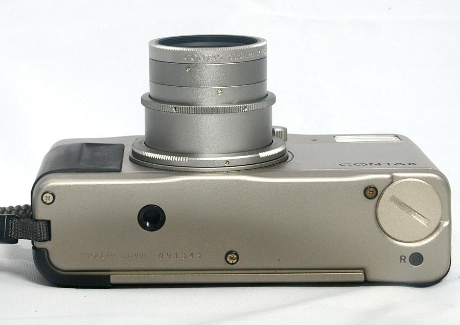 フィルムカメラ 【コンタックス CONTAX Tvs 】Carl Zeiss Vario Sonnar 3.5-6.5/28-56 コンパクトカメラ 中古_画像4