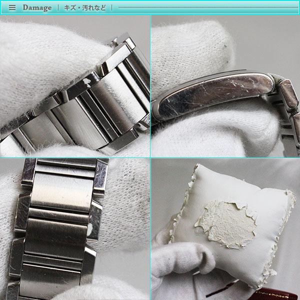 Cartier カルティエ タンクフランセーズ SM レディース腕時計 W51008Q3 2384 白文字盤 シルバー SS 定番 人気_画像6