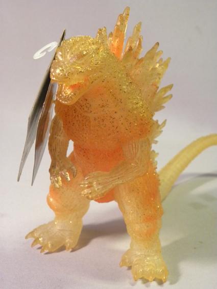 【劇場限定】1990年代 当時物 バンダイ ゴジラ ソフビ ( ゴジラ2000 ミレニアム ミレゴジ Bandai Godzilla limited Edition Sofubi Figure_画像2