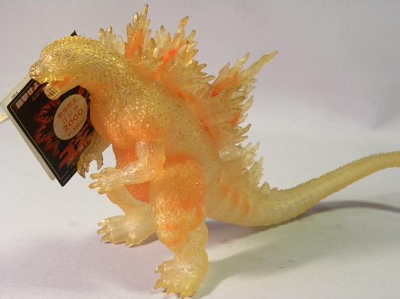 【劇場限定】1990年代 当時物 バンダイ ゴジラ ソフビ ( ゴジラ2000 ミレニアム ミレゴジ Bandai Godzilla limited Edition Sofubi Figure