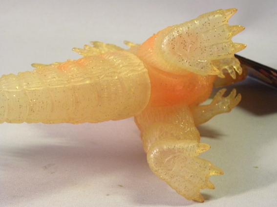 【劇場限定】1990年代 当時物 バンダイ ゴジラ ソフビ ( ゴジラ2000 ミレニアム ミレゴジ Bandai Godzilla limited Edition Sofubi Figure_画像4
