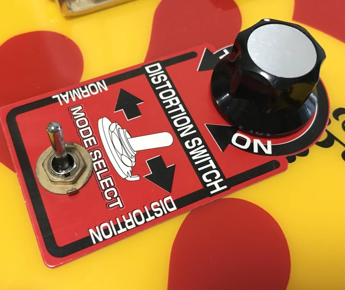 【希少・レア】FERNANDES フェルナンデス ZO-3 イエローハート hideモデル 初回生産500本 オリジナルケース付 YELLOW HEART-ZO 定価\44,940_画像3