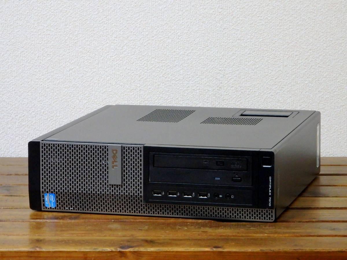 究極 Core i7-3770 3.9G×8/新品SSD 512GB+新品HDD 2TB/大容量16GBメモリ/最新Win10/USB3.0/Sマルチ/Office2019/領収証可/OptiPlex7010 ②_画像3