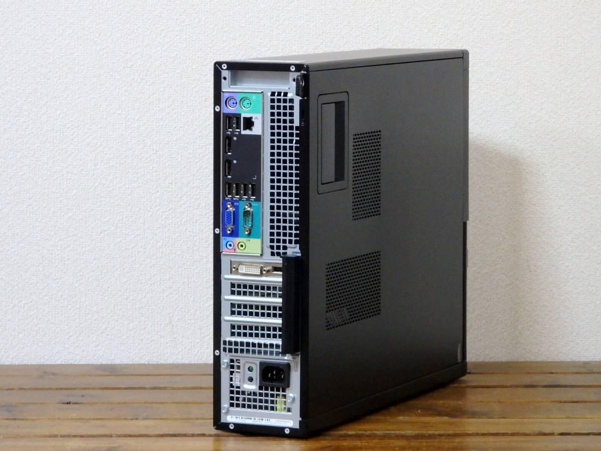 究極 Core i7-3770 3.9G×8/新品SSD 512GB+新品HDD 2TB/大容量16GBメモリ/最新Win10/USB3.0/Sマルチ/Office2019/領収証可/OptiPlex7010 ②_画像4