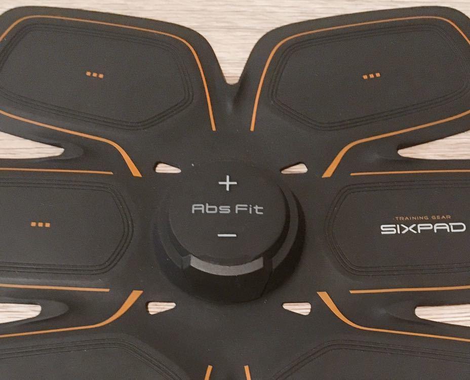 純正新品ジェルシート付 Sixpad アブズフィット2 シックスパッド Absfit 2 充電式 ボディフィット 腹筋 領収書発行可MTG _画像10