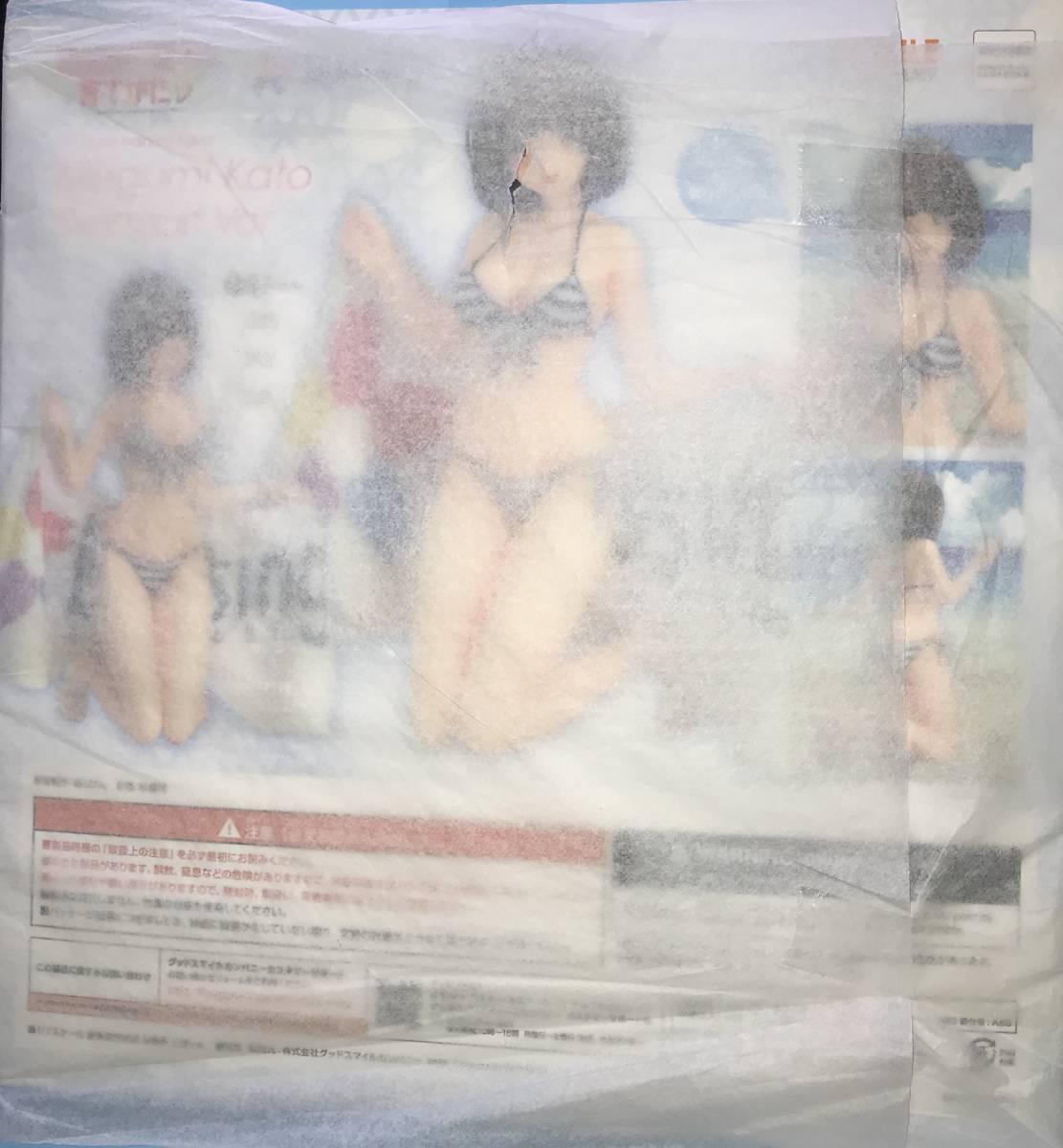 【特典】冴えない彼女の育てかた♭ 加藤恵 水着Ver. 1/7 完成品 美少女フィギュア[グッドスマイルカンパニー_画像7