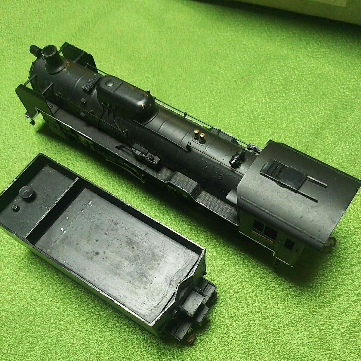 【一円スタート】KTM KATUMI カツミ 形式C59 蒸気機関車 HOゲージ 鉄道模型 ジャンク_画像4