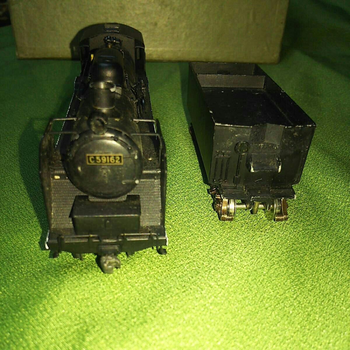 【一円スタート】KTM KATUMI カツミ 形式C59 蒸気機関車 HOゲージ 鉄道模型 ジャンク_画像2