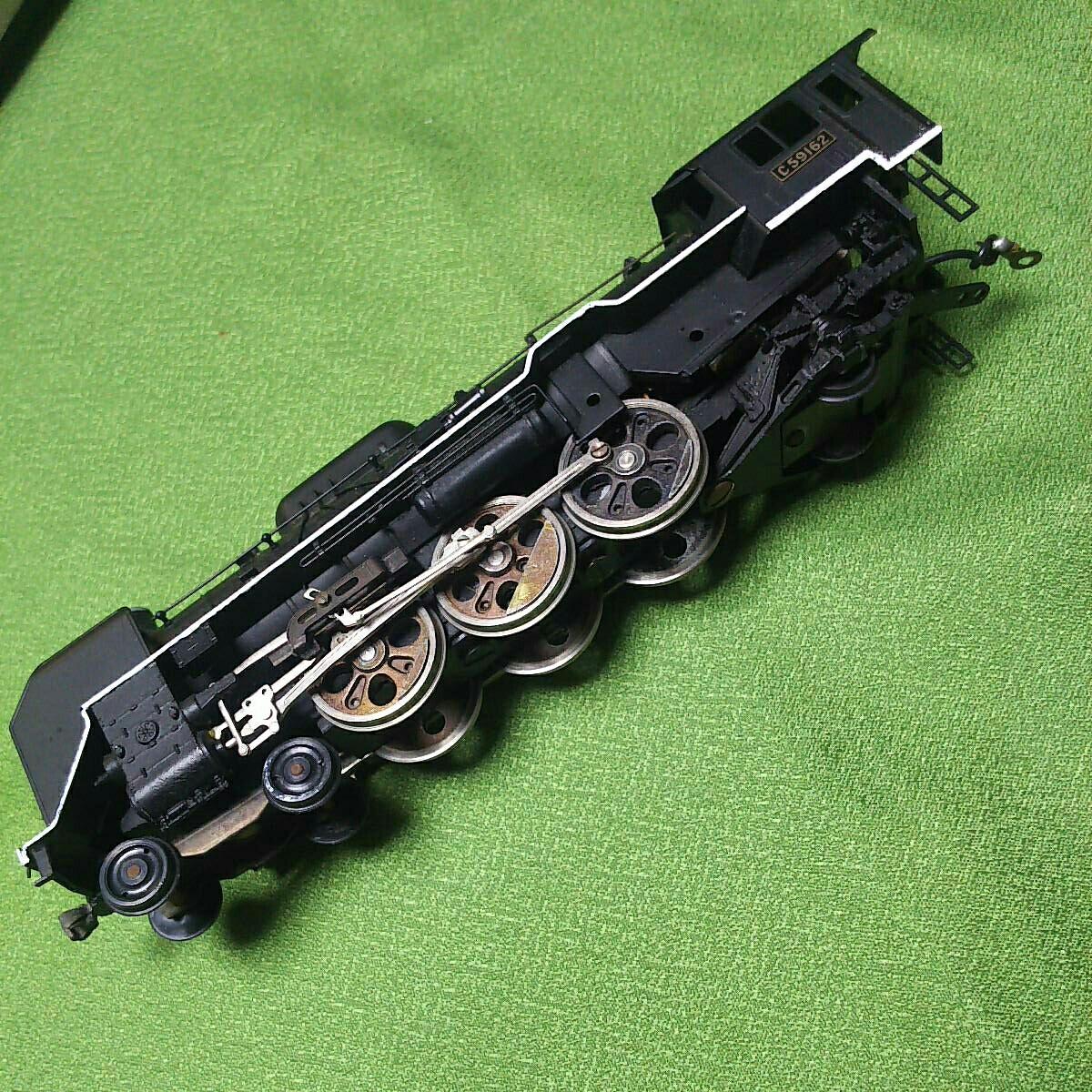 【一円スタート】KTM KATUMI カツミ 形式C59 蒸気機関車 HOゲージ 鉄道模型 ジャンク_画像6