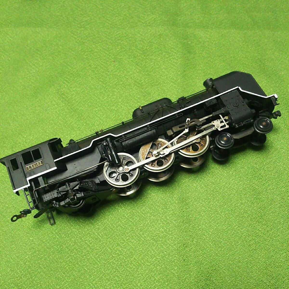 【一円スタート】KTM KATUMI カツミ 形式C59 蒸気機関車 HOゲージ 鉄道模型 ジャンク_画像7
