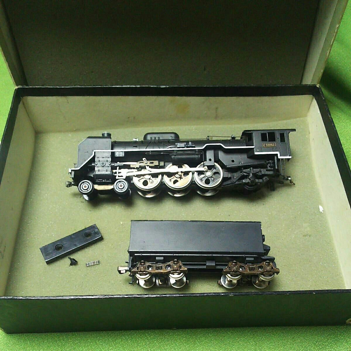 【一円スタート】KTM KATUMI カツミ 形式C59 蒸気機関車 HOゲージ 鉄道模型 ジャンク_画像10