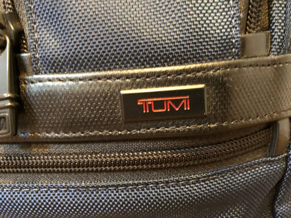 2015年10月シップス川崎店 購入 TUMI for SHIPS ALPHA2 3WAYバッグ 26180 中古美品_画像10