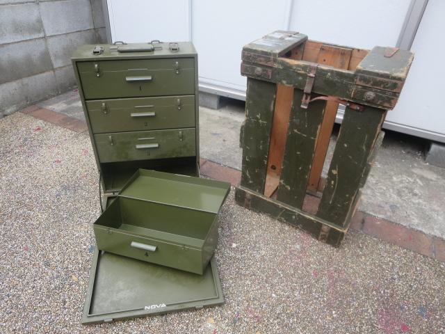 救急箱・工具箱・弾薬箱・小物入