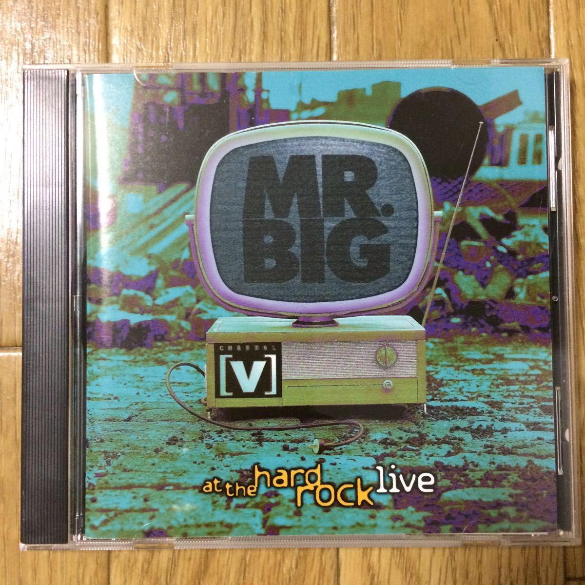 ★即決★ ミスター・ビッグ MR.BIG「ハード・ロック・ライヴ」国内盤_画像1