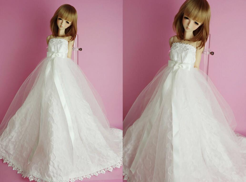 新品未開封 vmf50 angel philia ドール用 ウェディングドレス WEDDING DRESS オビツ50 msd アゾン50 parabox 東京ドール smart doll volks_ドール用ウェディングドレスのみの出品。