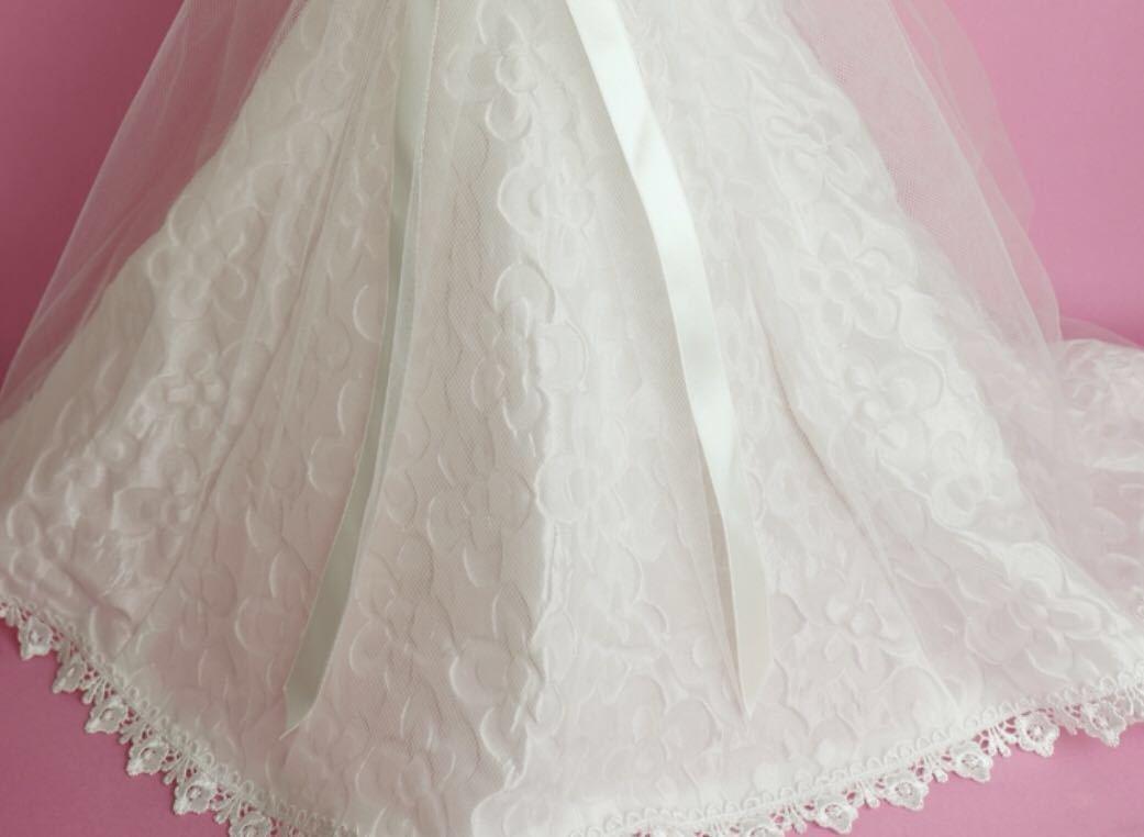 新品未開封 vmf50 angel philia ドール用 ウェディングドレス WEDDING DRESS オビツ50 msd アゾン50 parabox 東京ドール smart doll volks_写真は使用イメージ。