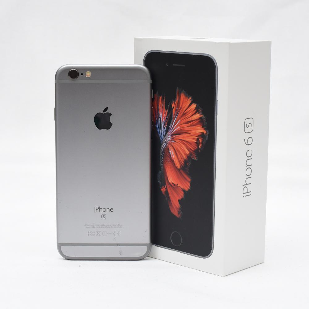 AU iPhone 6s グレー 動作品 訳あり品 元箱付き