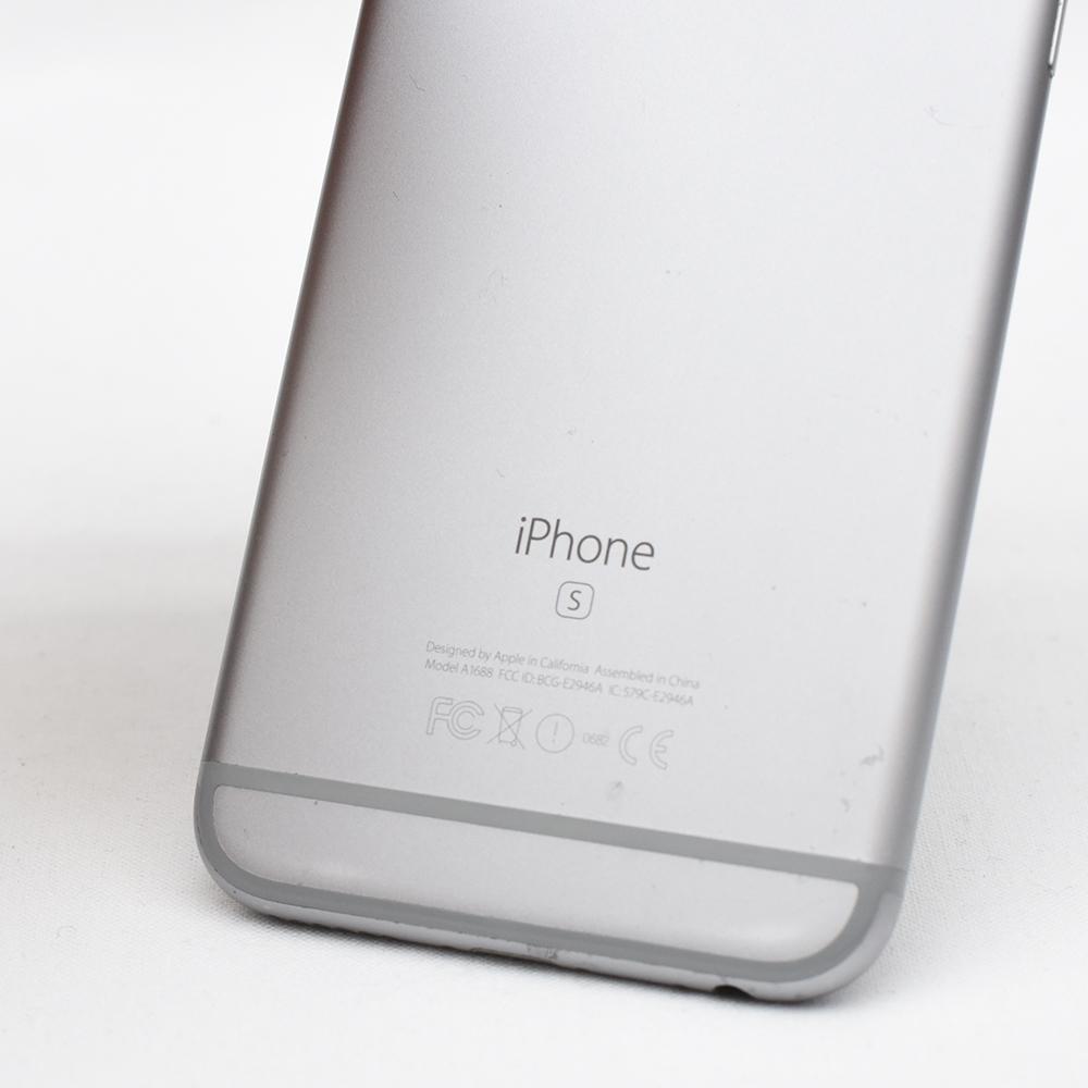 AU iPhone 6s グレー 動作品 訳あり品 元箱付き_画像4