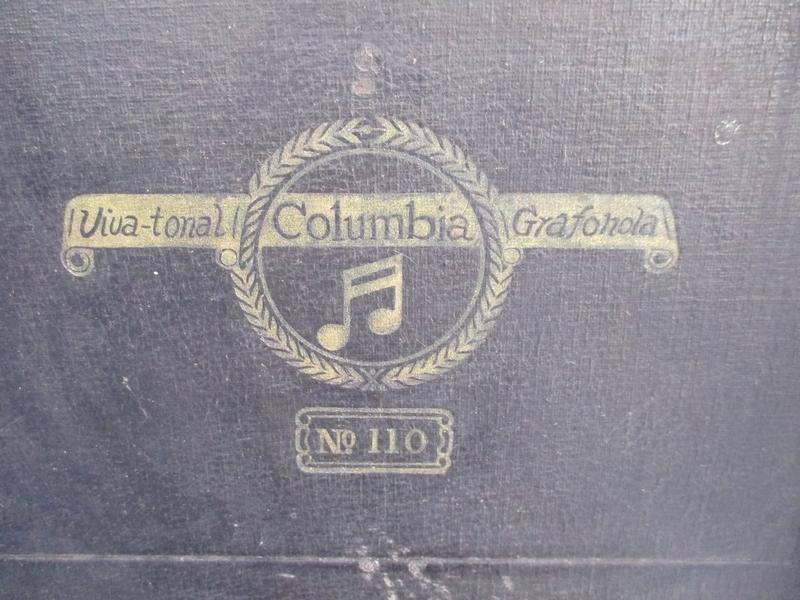 ■ Columbia ポータブル蓄音機[№110] ■オリジナル コロンビア 動作 №4254■_画像3