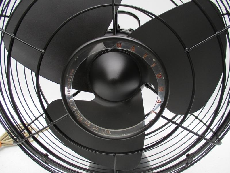 蔵出し品 ■ モダンレトロ 古い ナショナル扇風機 [NATIONAL] 動作 № 4924■_画像3