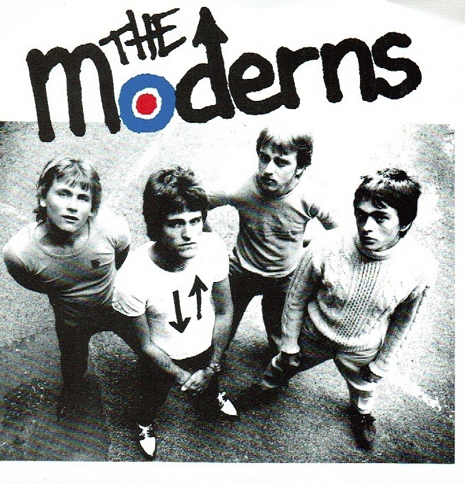 "Moderns - The Year Of Today 再発 7"" ('79 SWEDEN) 1977records punk powerpop mod パンク パワーポップ kbd"