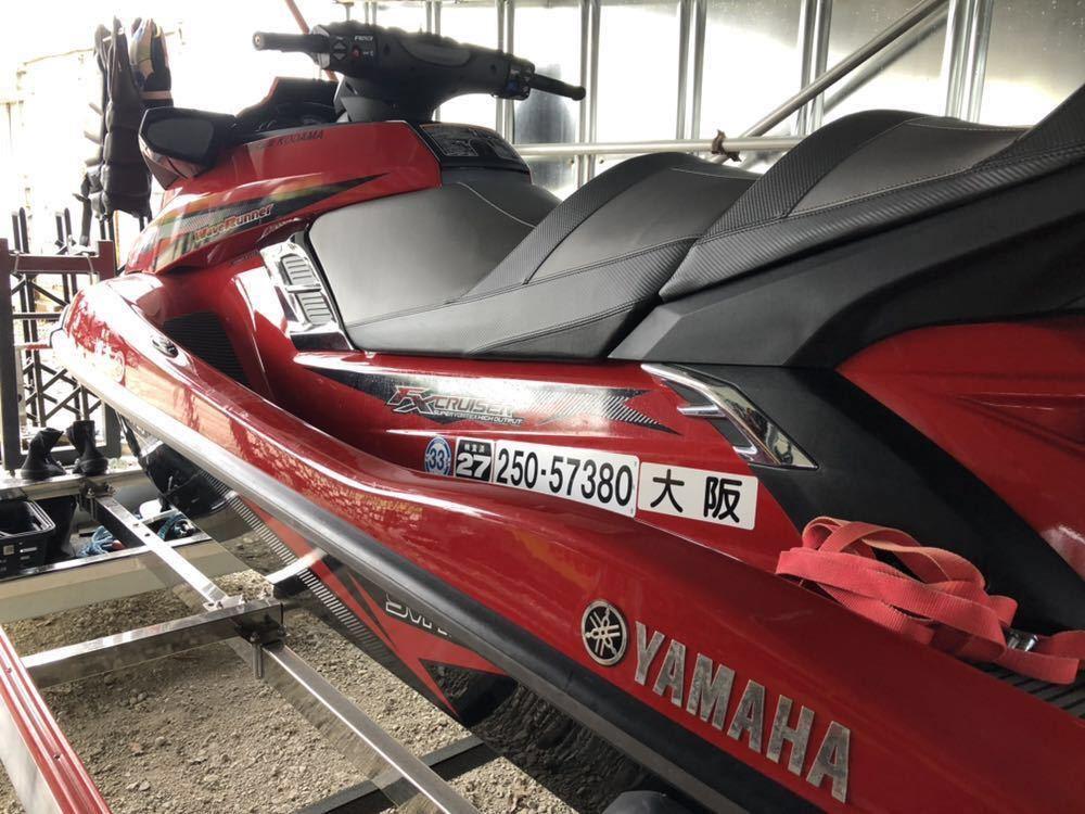大阪 ヤマハ SVHO MJ-FX cruiser クルーザー RIDE33年定期検査 船体のみ売切出品_画像5