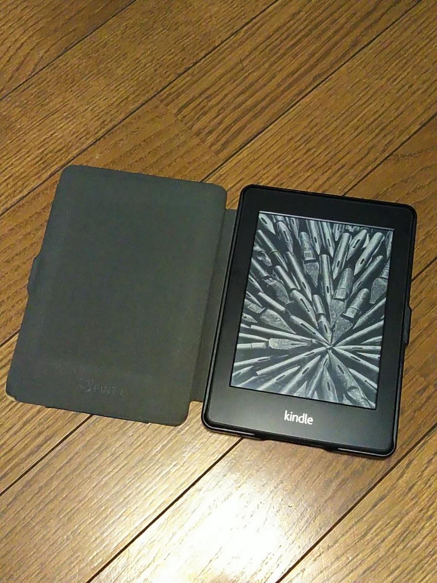 キンドル Kindle Paperwhite Amazon EY21電子書籍リーダー Wi-Fiモデル/広告なし/液晶シール、カバー付_画像4