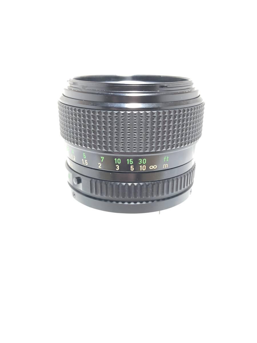 ★美品★ CANON LENS New FD 50mm F1.2 明るい単焦点 大口径レンズ FDマウント Canon キヤノン キャノン_画像5