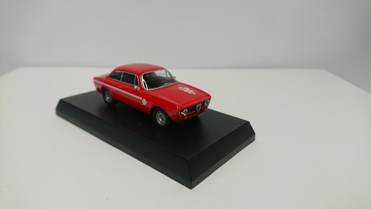 京商 アルファロメオ ジュリア スプリント GTA 1300 ジュニア レッド クーペ 1/64 トミカリミテッドヴィンテージサイズ_画像6