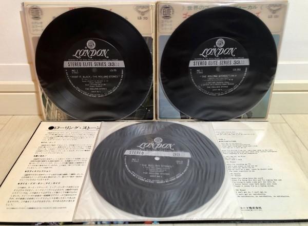 【1円★売り切り】THE ROLLING STONES ザ・ローリング・ストーンズ LONDON ロンドン 7インチ 7寸 EP レコード まとめて まとめ売り 3枚_画像3