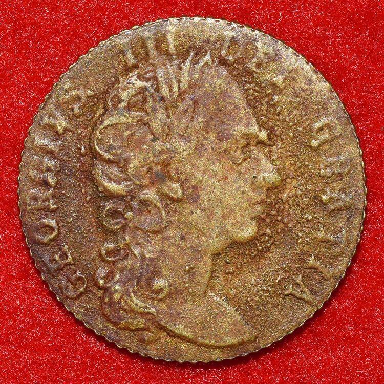 18世紀イギリス スペードギニー金貨 ジョージ3世 賭博用カウンタートークン 真鍮貨 黄銅貨 英国 UK アンティークコイン 海外古銭 希少