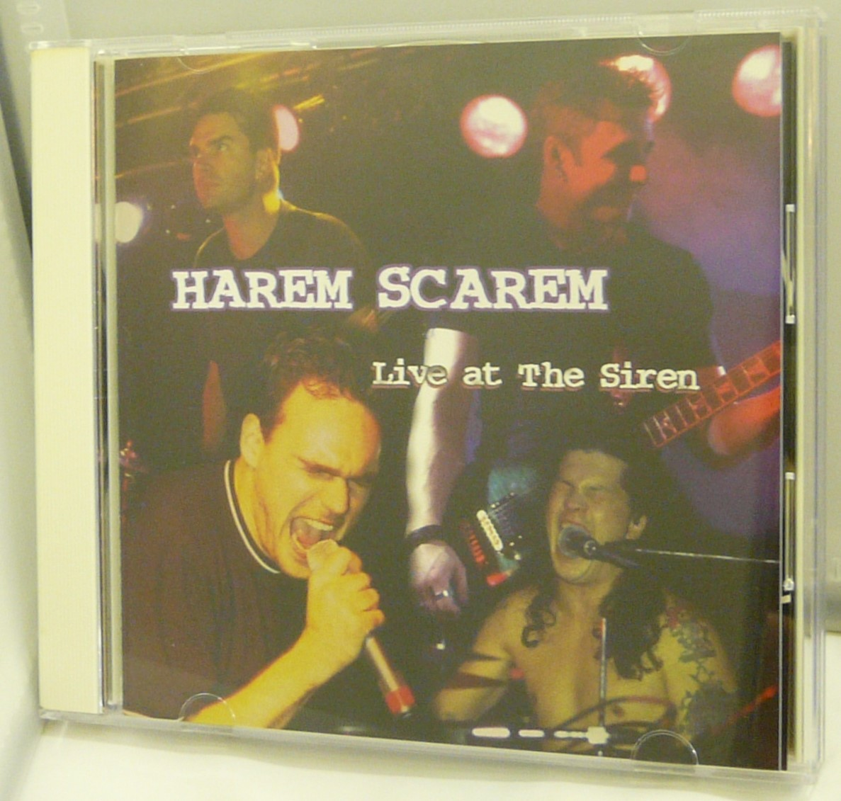 CD♪USED◎Harem Scarem RUBBER ◆ライヴ・アット・ザ・サイレン [初回限定盤](WPCR1736)◆ゆうメール発送◎管理CD1453_画像1