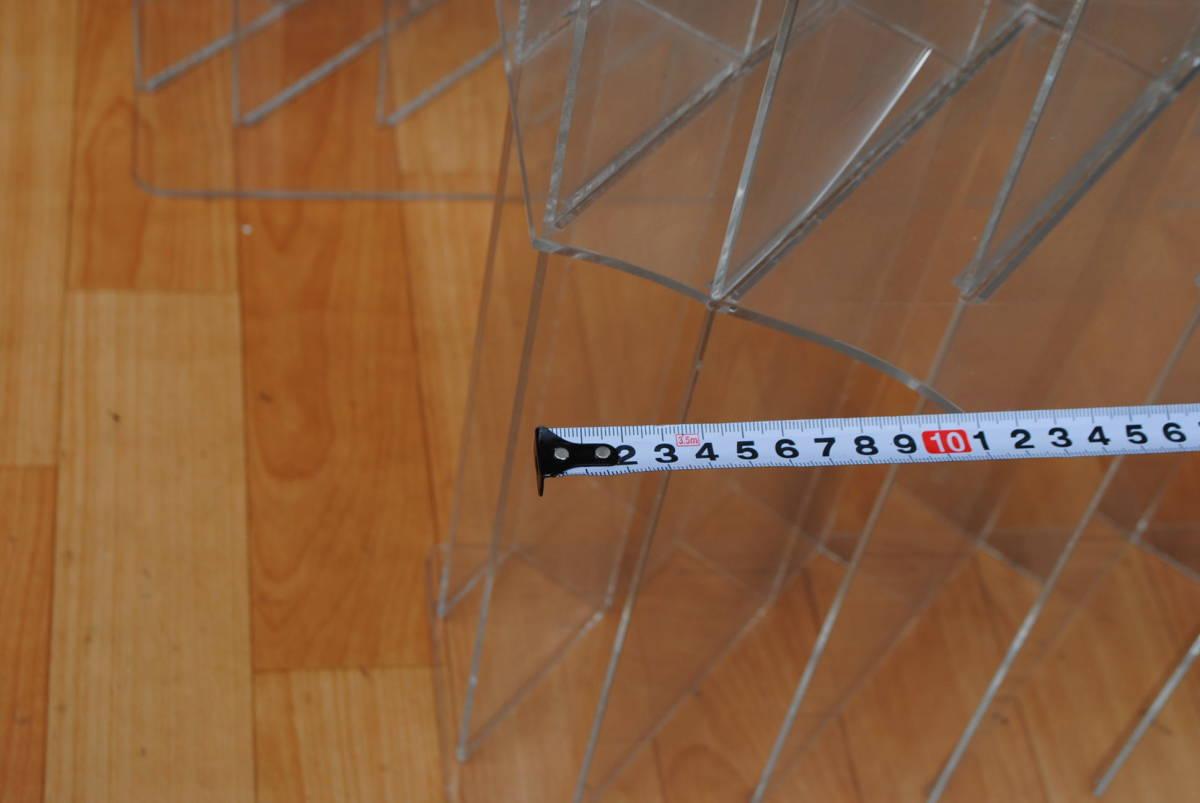M458.2点セット/店舗什器/ディスプレイ/アクリルスタンド/アクリルケース/商品陳列棚/コレクションケース/_画像4