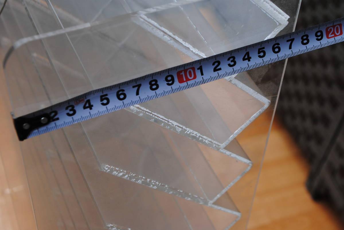 M458.2点セット/店舗什器/ディスプレイ/アクリルスタンド/アクリルケース/商品陳列棚/コレクションケース/_画像8