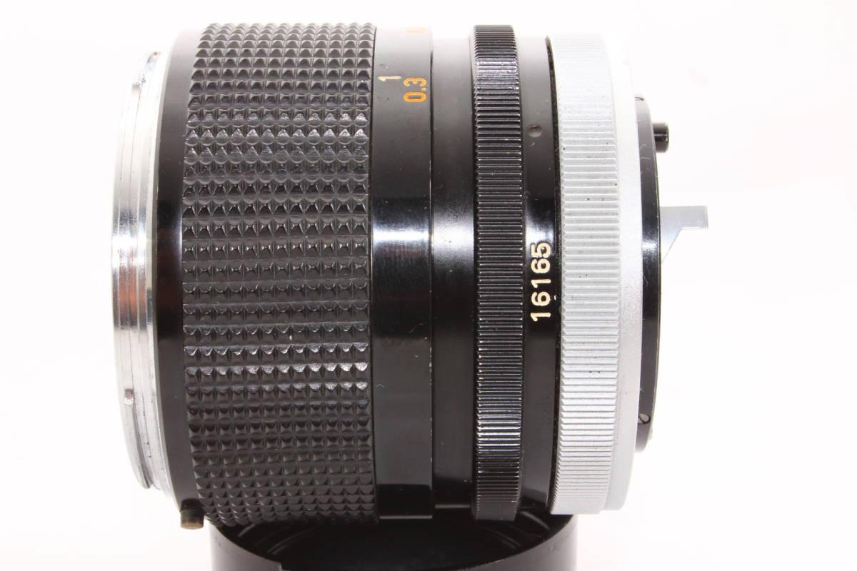 キヤノン CANON LENS FD 35mm F2 レンズ BS-55 フード [16165]_画像9