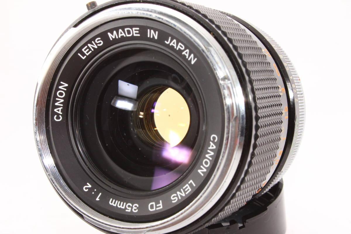キヤノン CANON LENS FD 35mm F2 レンズ BS-55 フード [16165]_画像3