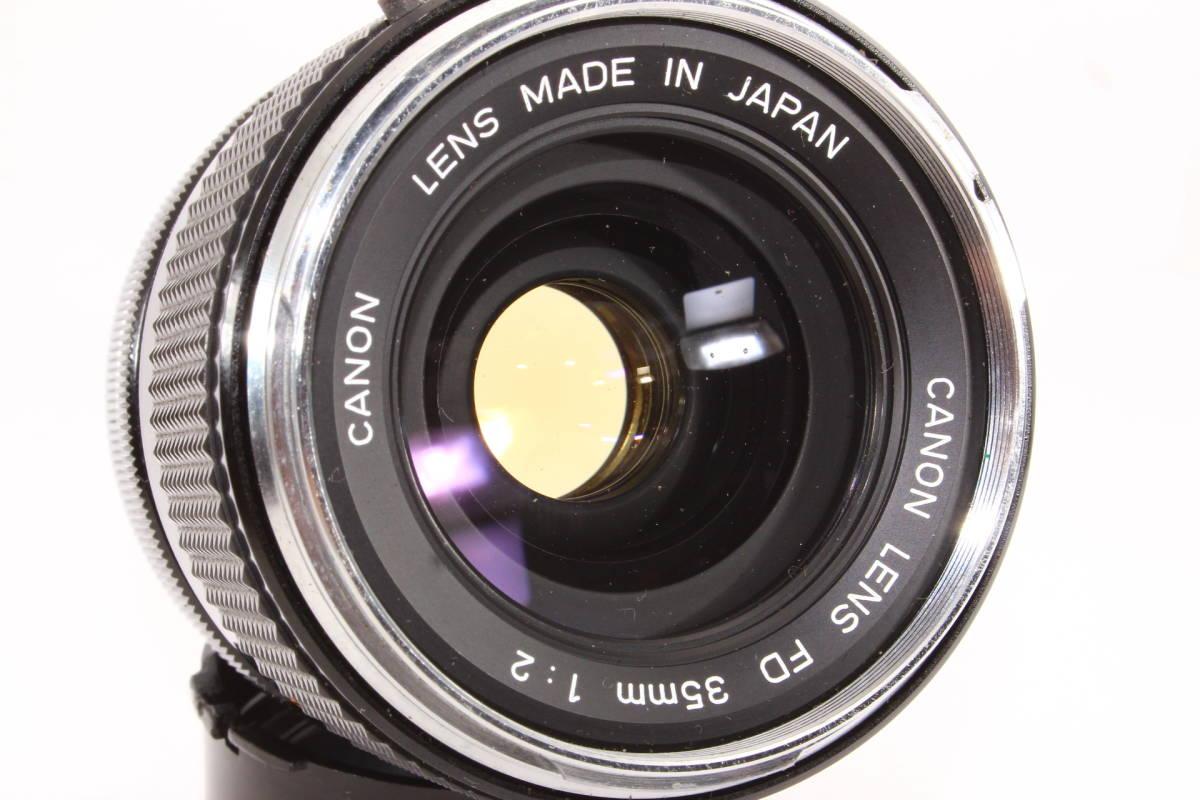キヤノン CANON LENS FD 35mm F2 レンズ BS-55 フード [16165]_画像4