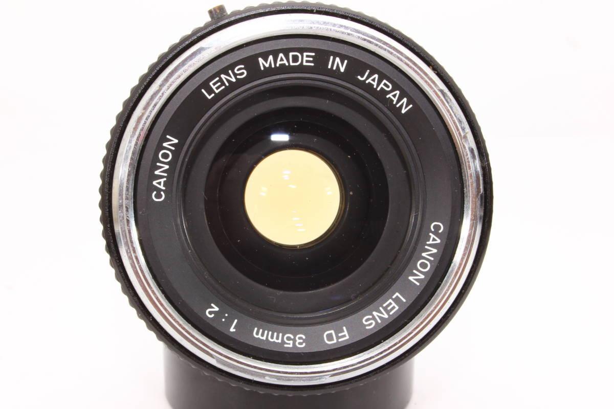 キヤノン CANON LENS FD 35mm F2 レンズ BS-55 フード [16165]_画像2