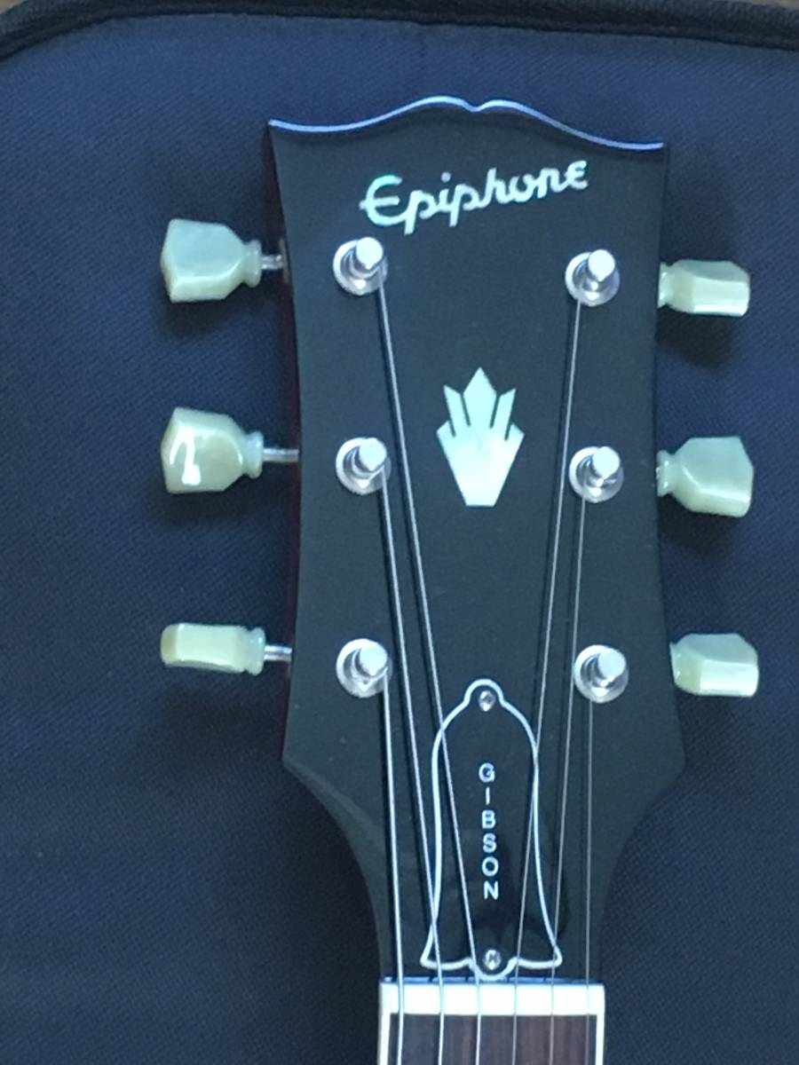 EPIPHONE Limited Edition 61 SG Lacqer  エピフォン SG 日本製 ラッカーシリーズ 極上美品_画像4