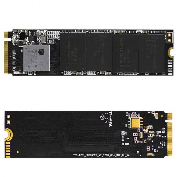 ★新品!!最安値★Reeinno SSD M.2 NVMe PCI-E 240GB 3D 高速 NAND TLC 内蔵型 Mace2000-960 デスクトップ ノートパソコン DE041_画像2