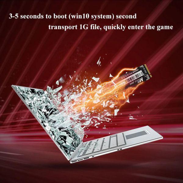 ★新品!!最安値★Reeinno SSD M.2 NVMe PCI-E 240GB 3D 高速 NAND TLC 内蔵型 Mace2000-960 デスクトップ ノートパソコン DE041_画像6